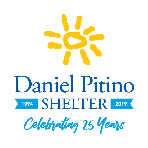 Daniel Pitino Shelter 25th Logo